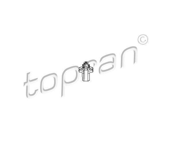 TOPRAN 103628 Glühlampe, Instrumentenbeleuchtung