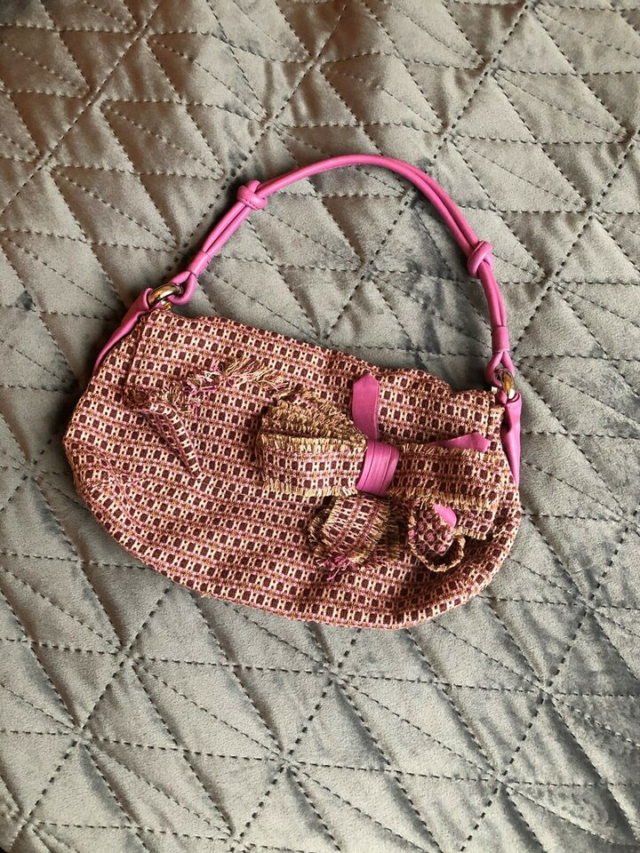Clutch, DKNY, andet materiale