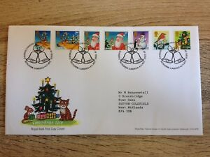 Christmas 2012 Royal Mail Stamps First Day Cover - Sutton coldfield, United Kingdom - Christmas 2012 Royal Mail Stamps First Day Cover - Sutton coldfield, United Kingdom