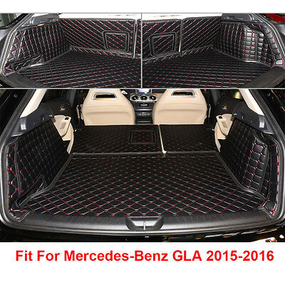 Auto Car Trunk Boot Liner Mat Carpet Cover For Mercedes-Benz GLA 2015-2016 Years