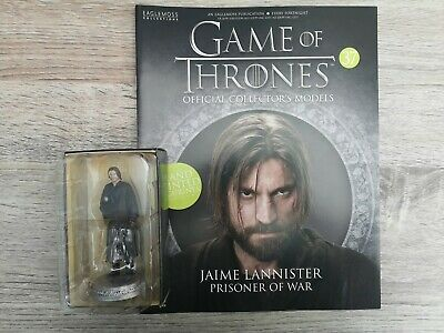 Game Of Thrones Issue 37 Jaime Lannister EAGLEMOSS Figurine Figure Collector