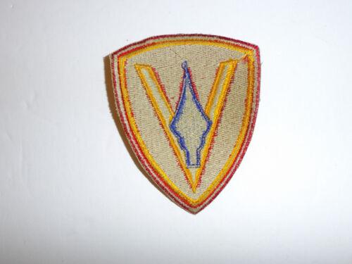 13040  WW 2 USMC 5th Marine Division Patch R5A