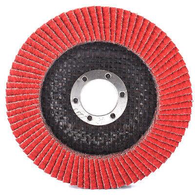 2//5//10 pcs 115mm Nylon Fiber Flap Polishing Wheel Disc For Wood Metal Buffing