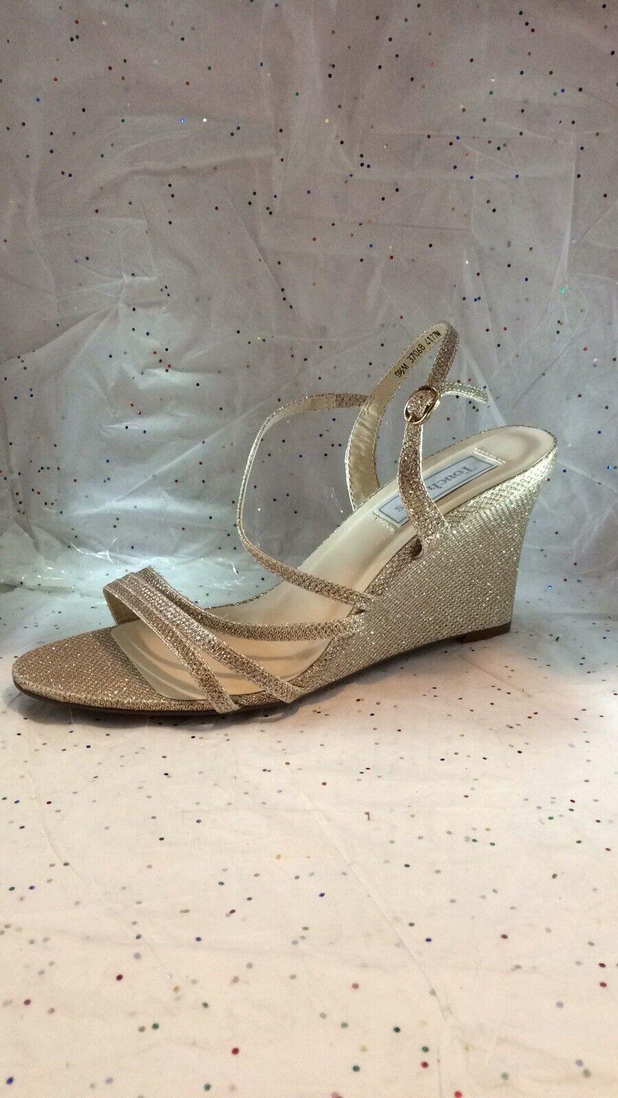Touch Ups or Glitter Talon Compensé sandal Taille 91 2