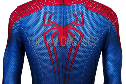 The Amazing Spider-Man 2 Spiderman Peter Cosplay Kostüm Costume Outfit Film