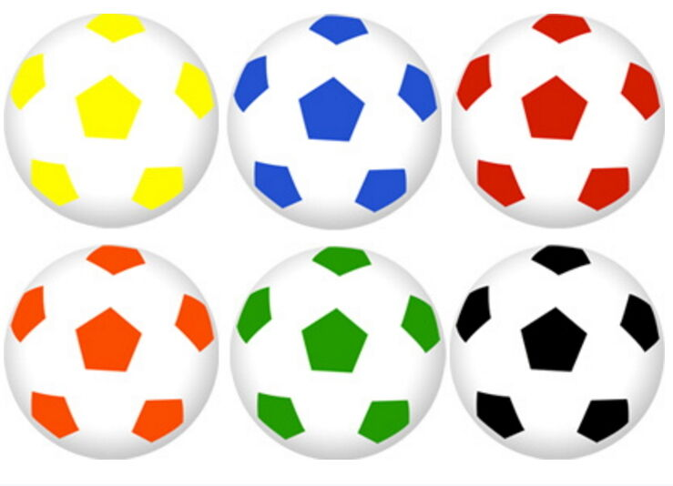 2000 Super Soccer Ball Bouncy Party 1  Birthday Superballs New Football Balls I