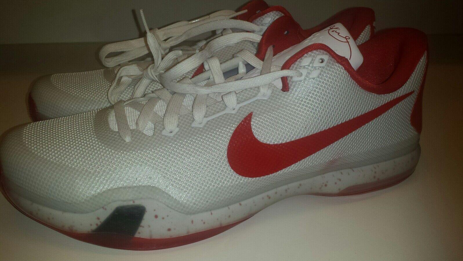 Nike Kobe X 10 TB White Red Comfortable
