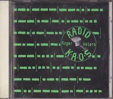 Roger Waters Radio K.A.O.S Japan 1st CD 1987 32DP 781