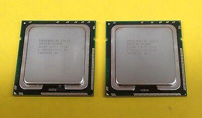 Intel Xeon E5620 2.4GHz SLBV4 Quad-Core Socket LGA1366 Matching Pair Mac Pro