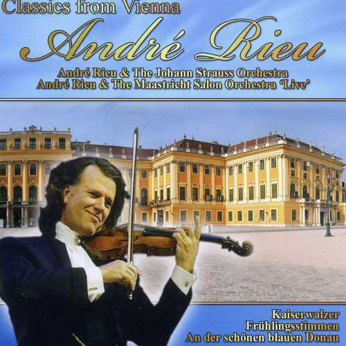 ANDRE RIEU - CLASSICS FROM VIENNA - NEW CD!!