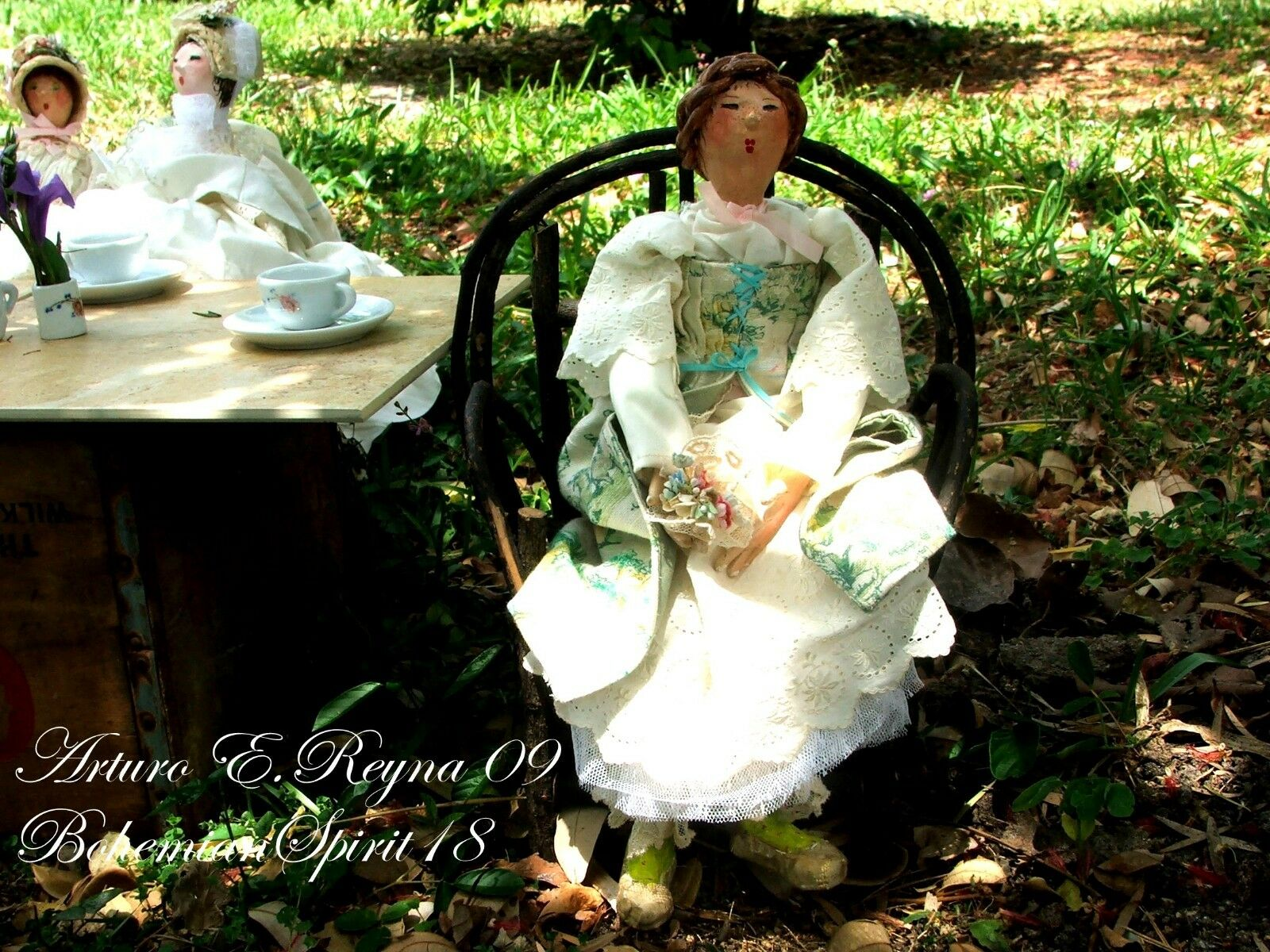 Victorian Style English One Of A Kind Handcrafted DOLL