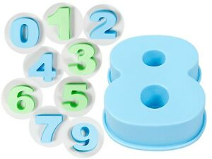 Silikon Nummern Backform Geburtstag Zahlen Silikonform Ziffer Kasten