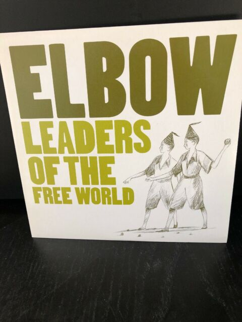 "ELBOW-LEADERS OF THE FREE WORLD b/w GENTLE AS-UK 2005 VINYL 7""-P/S-UNPLAYED/NEW"