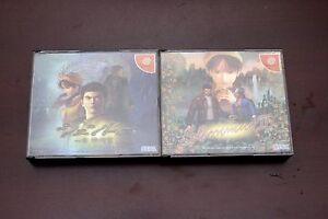 Sega-Dreamcast-SHENMUE-I-II-1-2-Japan-import-DC-games-US-Seller