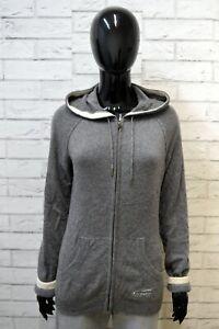 CHAMPION-Maglione-Felpa-Cashmere-Donna-Taglia-L-Maglia-Pullover-Grigio-Sweater