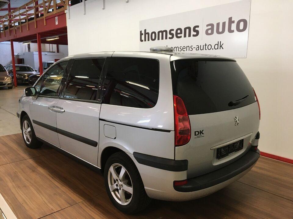 Peugeot 807 2,2 HDi 130 ST Diesel modelår 2005 km 334000