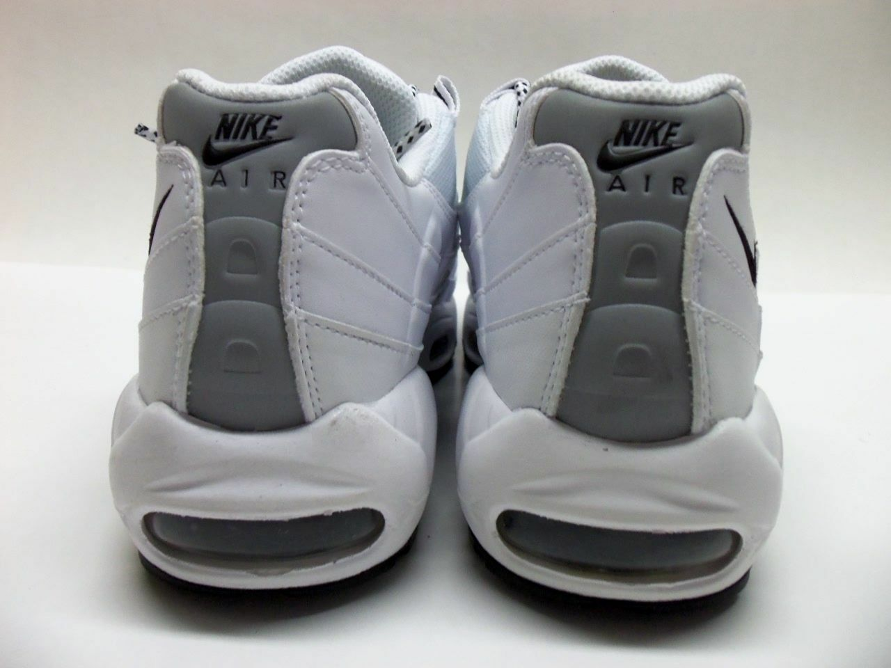 Nike Nike Nike air max 95 scarpe bianche   nero nero uomini 609048 109 sz 13   In Uso Durevole    Uomini/Donne Scarpa  88af06