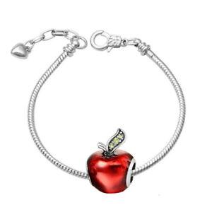 Luxury Charms Charming Snake Silver Bracelet Watermelon Fruit Collection Fresh Design BB212W UEXu3J7z
