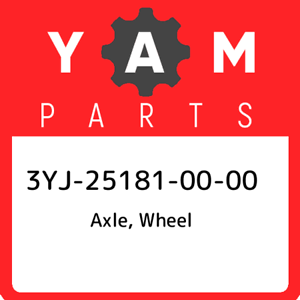 Yamaha 22W-25181-01-00 AXLE,WHEEL; 22W251810100