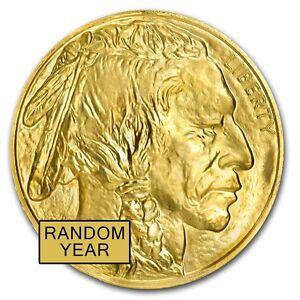 SPECIAL-PRICE-1-oz-Gold-American-Buffalo-Coin-Random-Year-BU