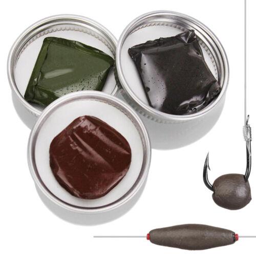 Karpfen Terminal Tackle Fishing Tools, Weiche Wolfram Rig Putty Gewichte