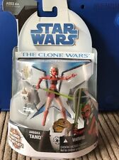 Hasbro Star Wars The Clone Wars Ahsoka Tano With Rotta The Huttlet Figure
