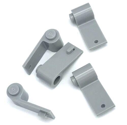 Lego Lot of 5 New Light Bluish Gray Door 1 x 3 x 1 Left ONLY Pieces