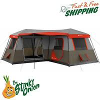Instant Cabin Tent Ozark Trail 12 Person 3 Room
