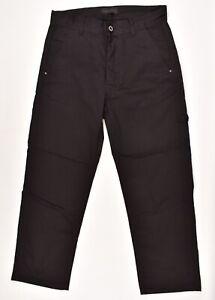 DIESEL-BLACK-GOLD-Men-039-s-Casual-Cargo-Pants-Trousers-Blacksize-W29