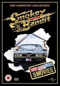 Smokey-And-The-Bandit-Trilogy-Burt-Reynolds-Jackie-Gleason-Sally-NEW-UK-R2-DVD