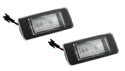 2015 2x TOP SMD LED Kennzeichenbeleuchtung Cadillac ATS Coupe ab Bj 906