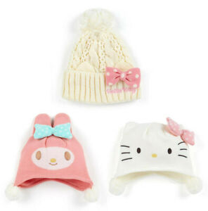 Japan Sanrio Hello Kitty / My Melody Kids Beanie Hat