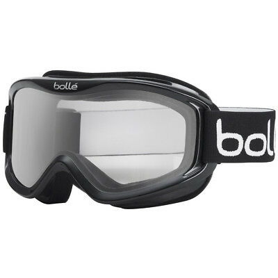 Bolle Mojo Snow Goggles (Shiny Black Frame/ Clear Lens)