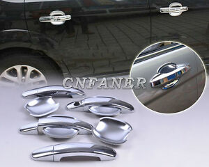 Chrome-Car-Door-Handle-Cover-Cup-Bowl-for-Ford-Focus-hatchback-2006-2007-2010