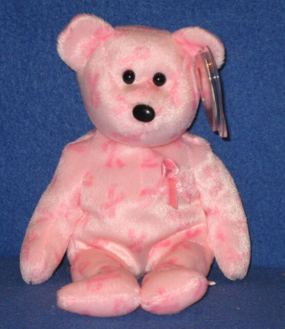 8e512658a4a Ty Beanie Baby Support Bear Breast Cancer Awareness 2007 for sale ...