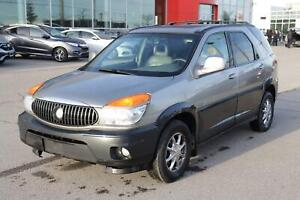 2002 Buick Rendezvous CX Security