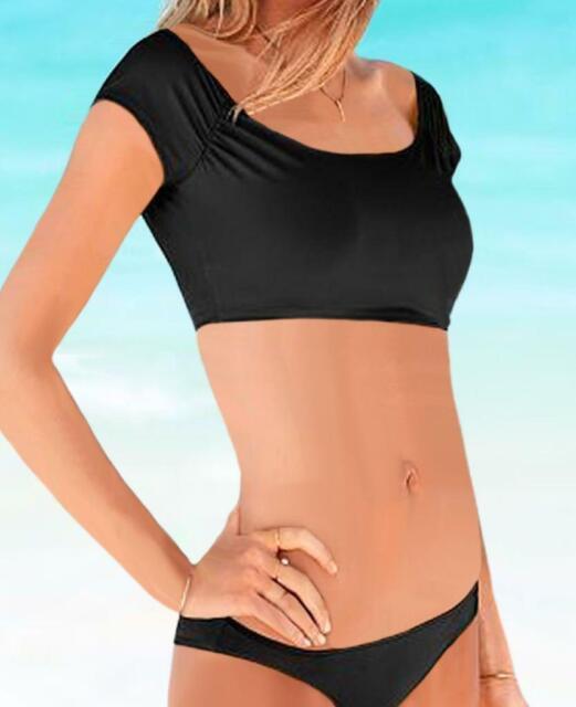 Victoria/'s Secret PINK Swim Strappy High Waist Bikini black XS S M L Bottom 093