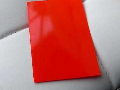 5 X G10 - Gfk Orange Liner Material Für Messerbau Oder Modellbau , 1mm Rabatte Verkauf