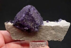 7797-Fluorite-fluorit-Loesungsanisotropie-6-11-cm-Elmwood-M-USA-Tennessee-MOVIE
