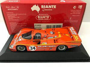 1-43-Minichamps-Biante-1984-Le-Mans-34-Porsche-956-Brock-Perkins-DNF