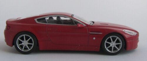 Aston Martin amv8//modello di auto da collezione//// Rosso//MATTONCINI//1:43