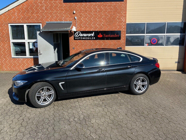 BMW 420d 2,0 Gran Coupé aut. 5d - 239.900 kr.