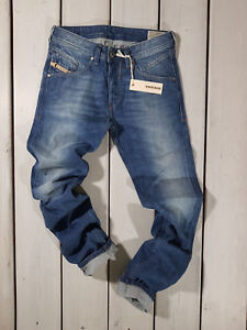 Rrp-179-Nuovo-Jeans-Diesel-Uomo-Belther-0R83P-Regular-Slim-Tapered