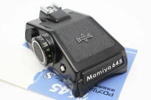 Mamiya M645 PD Prism Finder Mirino S operazione manuale MT2011 confermato
