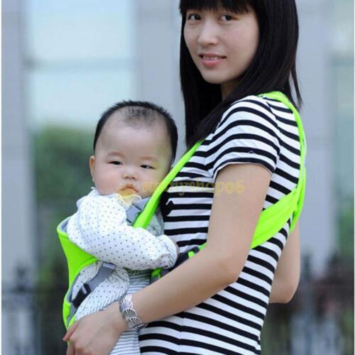 Newborn Infant Baby Carrier Backpack Front Back Rider Sling Comfort Kid Wrap Bag