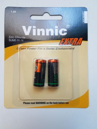 1,5V 2x Pila Vinnic LR1 E90 R1 MN9100 Bateria