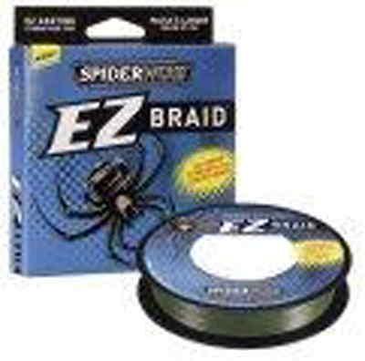 SPIDERWIRE EZ BRAID LO VIS GREEN 300 YDS 5 SIZES