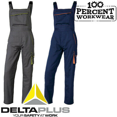 Ehrgeizig Heavy Duty High Quality Mens Work Bib And Brace Overalls Dungarees Trousers New Jade Weiß