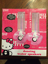 Hello Kitty Speakers with Dancing Water. Brand New.