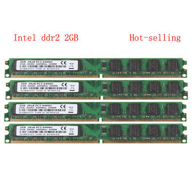 New 4GB Memory RAM DDR2 800MHZ PC2-6400 240 Pin Desktop DIMM AMD Motherboard DT